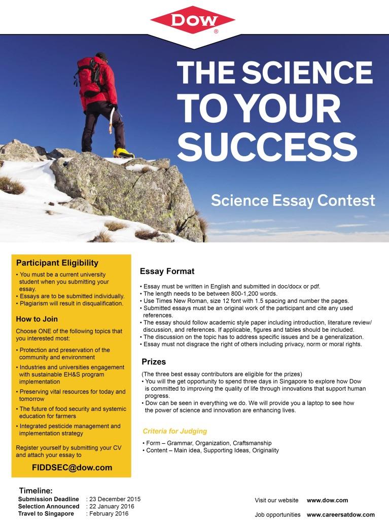 scientific essay